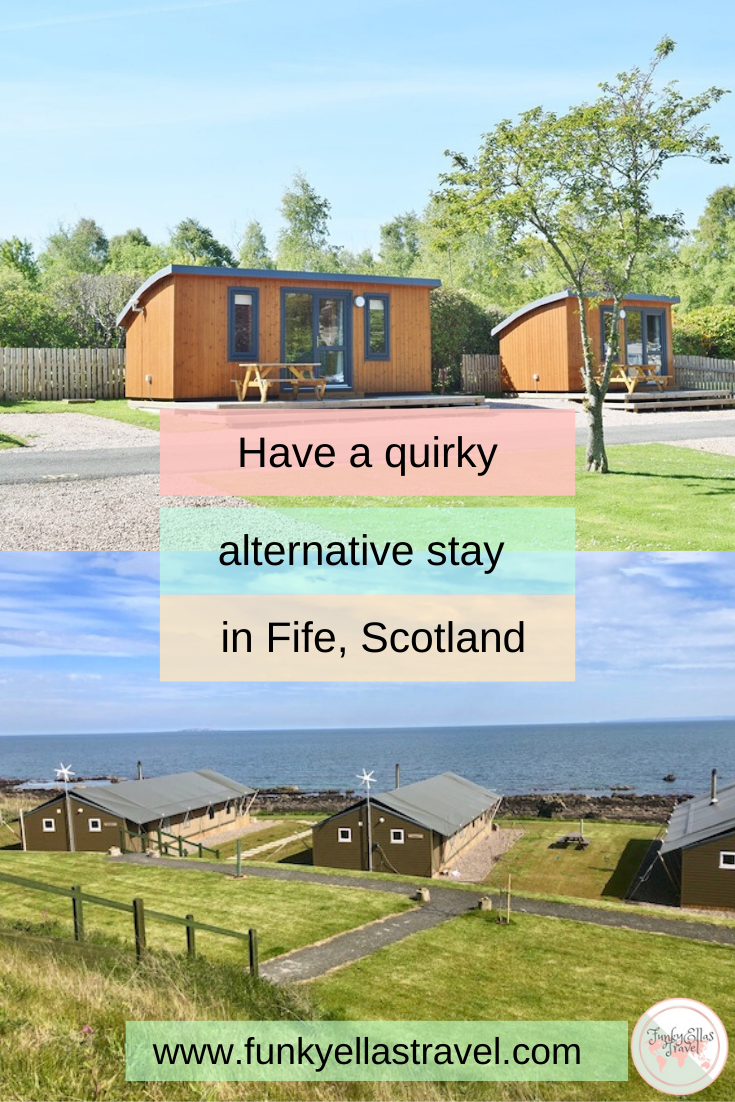 Glamping Fife, quirky places to stay in Fife