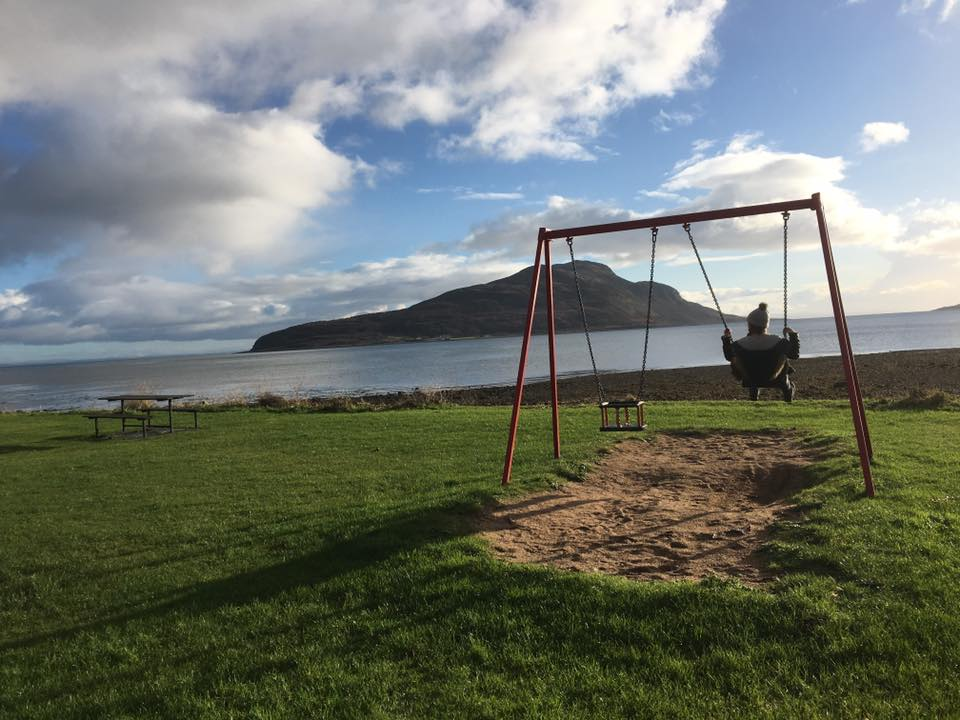 Things to do in Arran with kids, play park