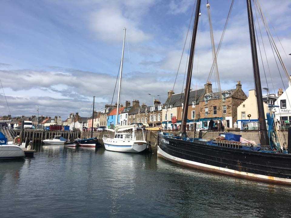 Boats in Anstruther, Fife