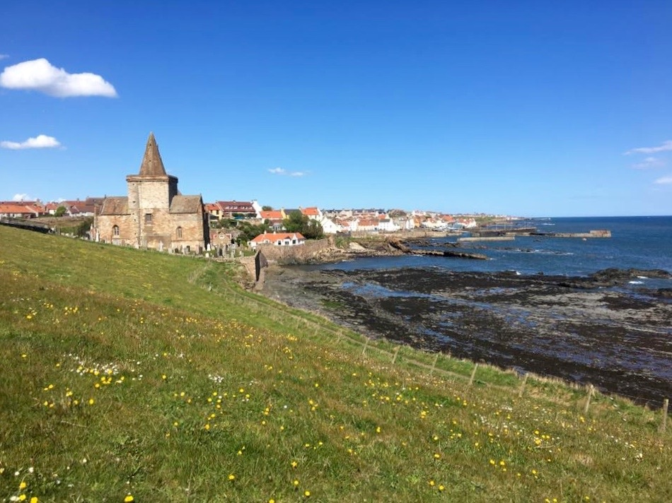 St Monans on the Fife coastal path