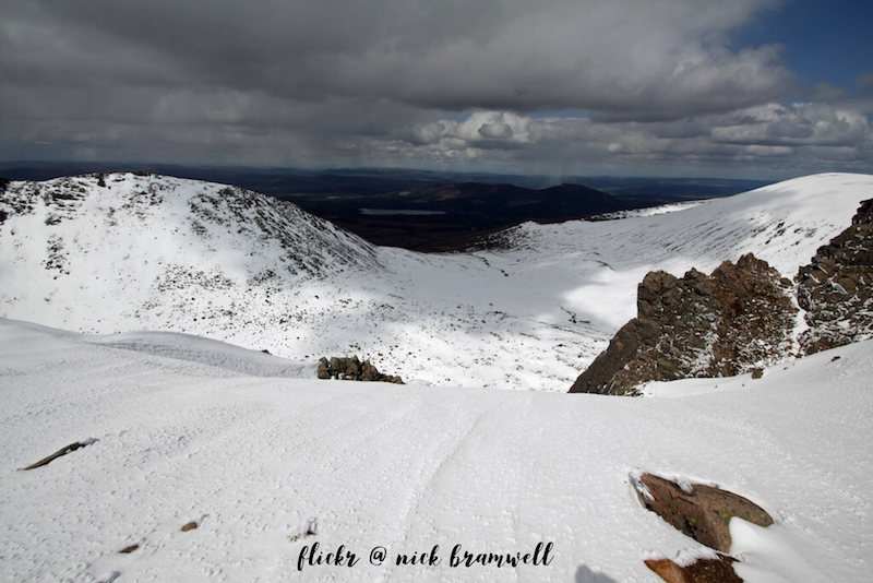 Things to do in Aviemore , skiing in the Cairngorm mountains