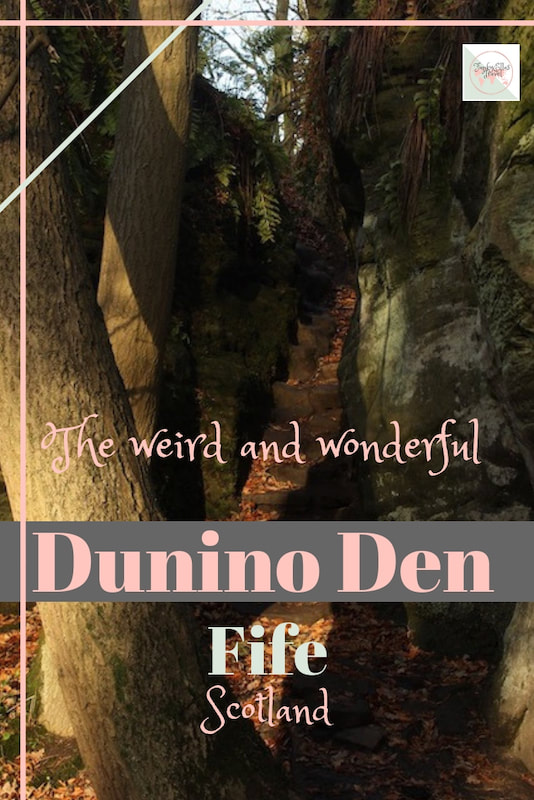 Dunino Den, in Fife, was and still is a place for Pagan worship. Deep in the forest, in a clearing, you can find celtic symbols, monetary offerings, a holy well and an ancient footprint.
