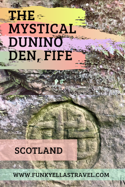 The mystical and mysterious Dunino Den in Fife, Scotland