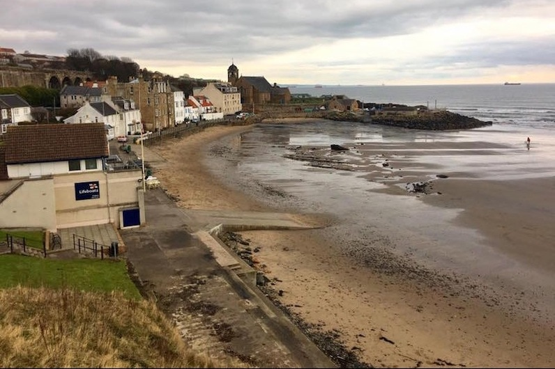 Kinghorn Beach, Fife