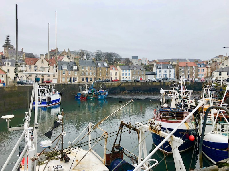 Pittenweem Harbour, Fife, Scotland
