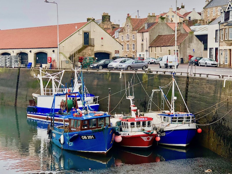 Scottish Travel blogger in Pittenweem