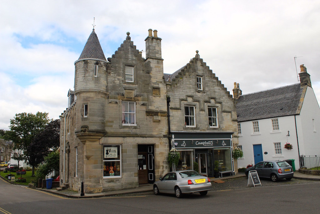 Outlander blog, Falkland aka Inverness
