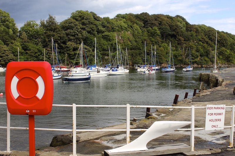 Aberdour Harbour, Fife, Scotland