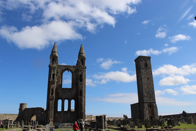 What to do in St Andrews, St Serf's Towers