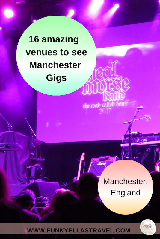 10 venues to see Manchester gigs, England