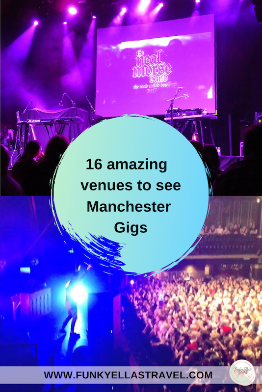 16 venues to see Manchester gigs, England