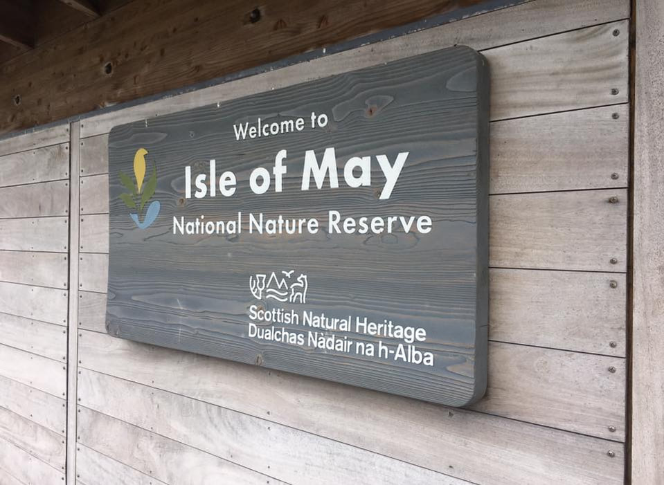 New visitor centre on the Isle of May