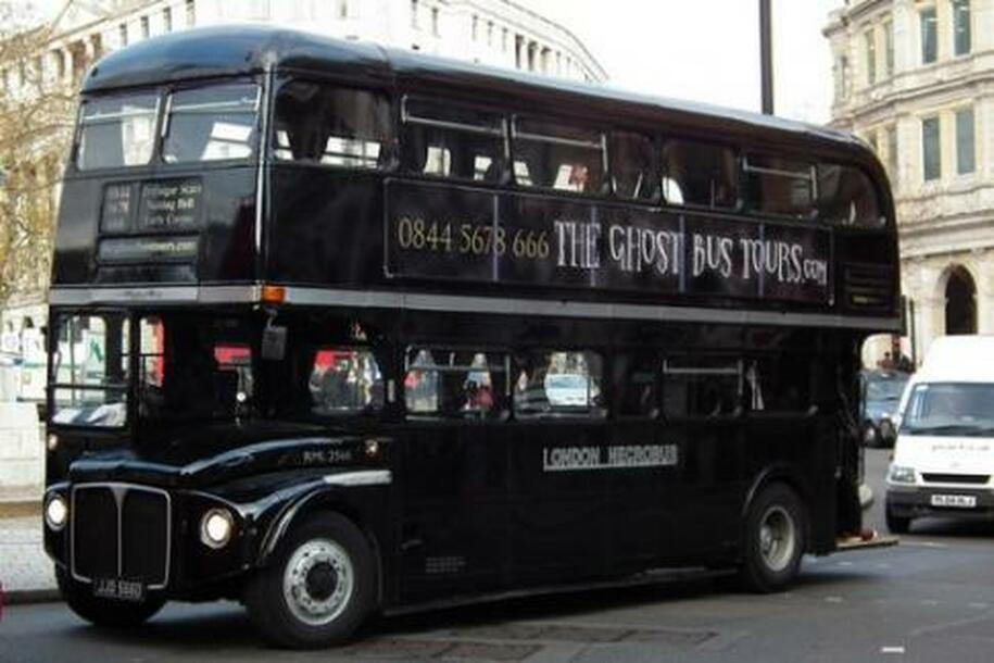Ghost bus tour in Edinburgh