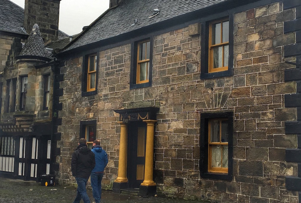 Outlander filming locations, Falkland