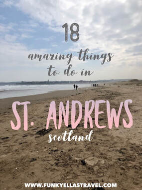 things to do in St Andrews Scotland pin