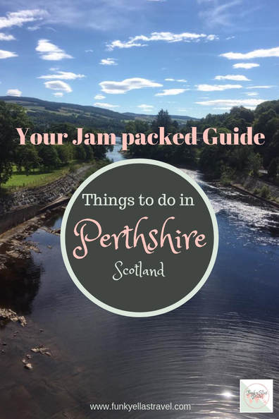 Your jam packed guide of things to do in Perthshire, Scotland.