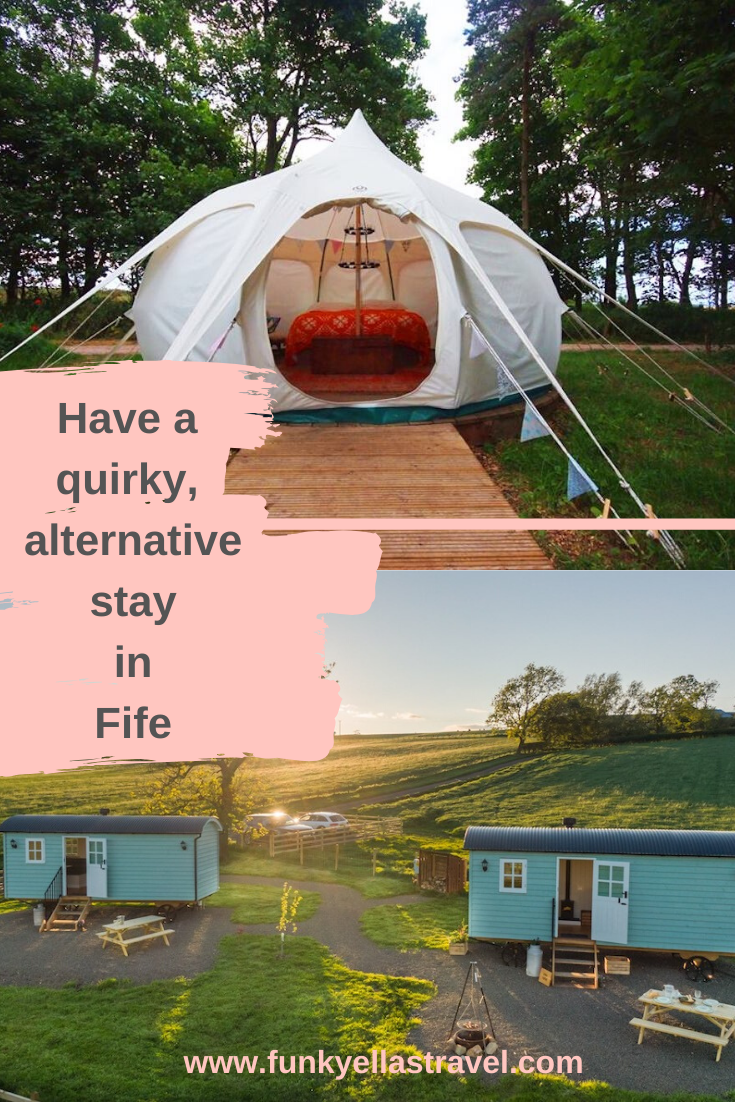 Have a quirky stay in Fife
