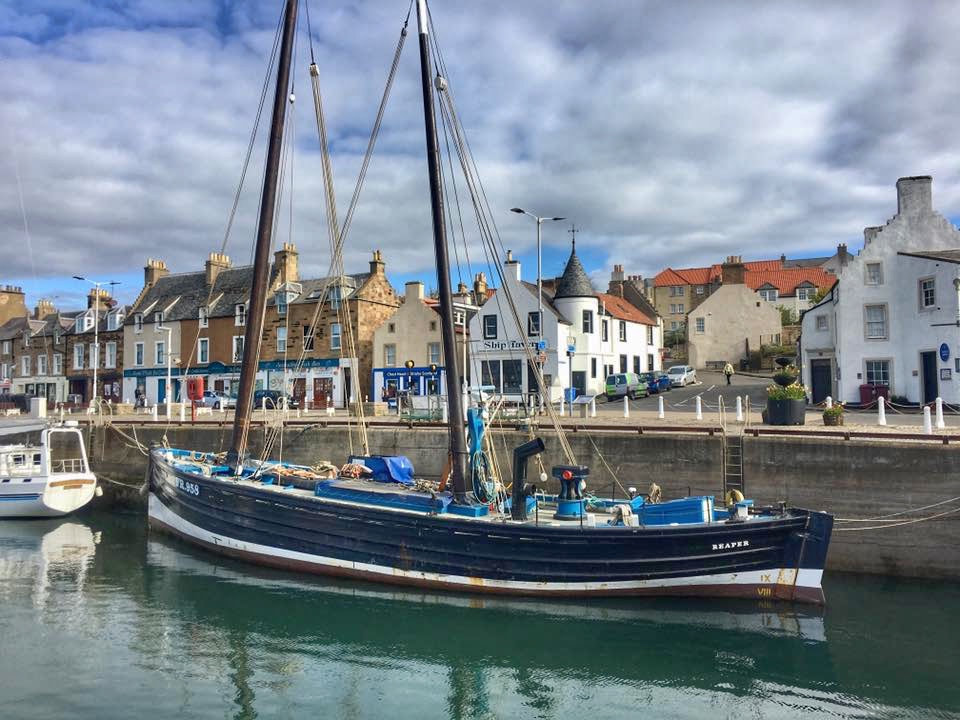 The Reaper in Anstruther