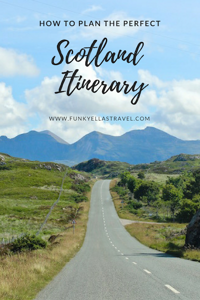 Plan your Scotland itinerary