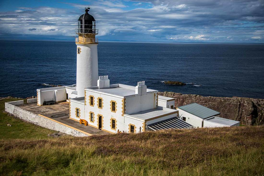 Lighthouse in Scotland