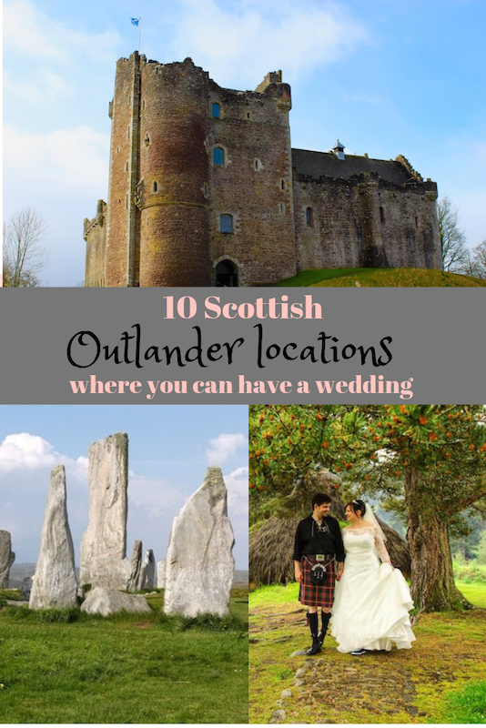 10 stunning Outlander locations in Scotland to have a wedding
