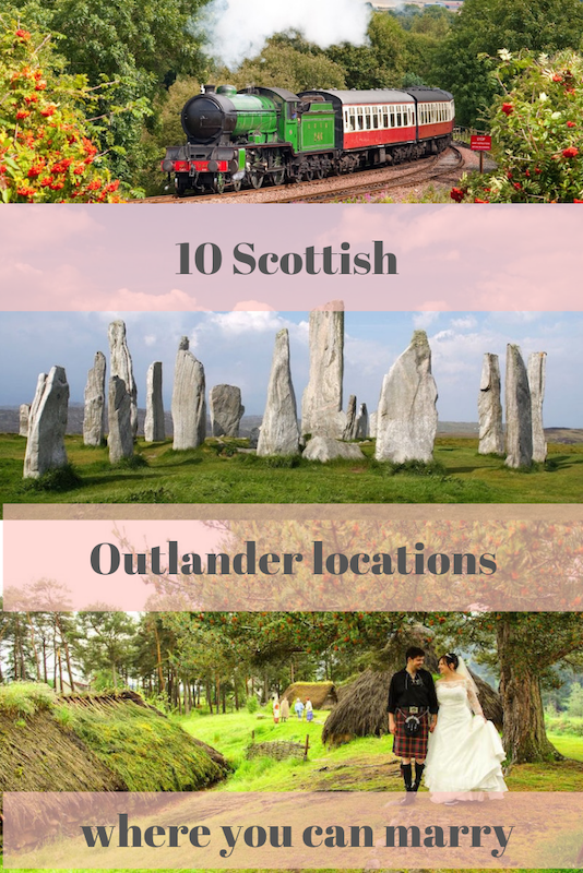 How to have an Outlander wedding in Scotland