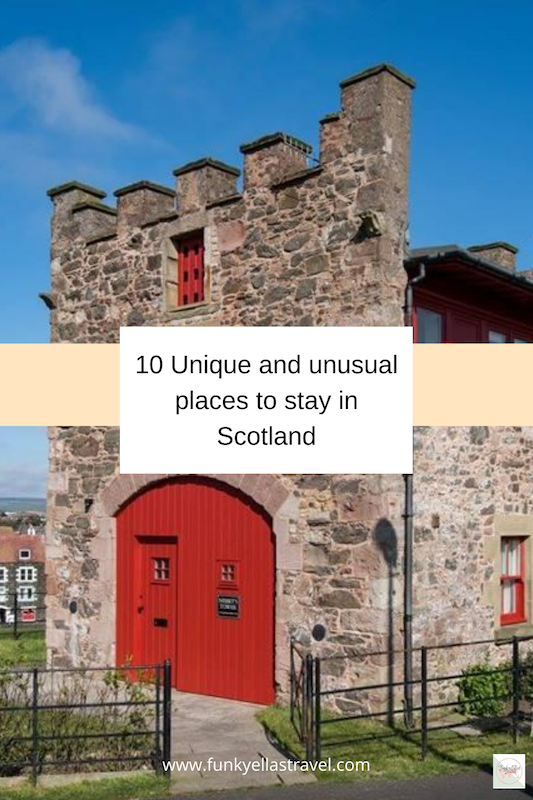 Unique places to stay in Scotland