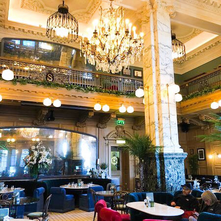 The Grand Cafe at the Scotsman
