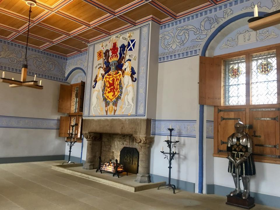 Room in Stirling Castle, Scotland