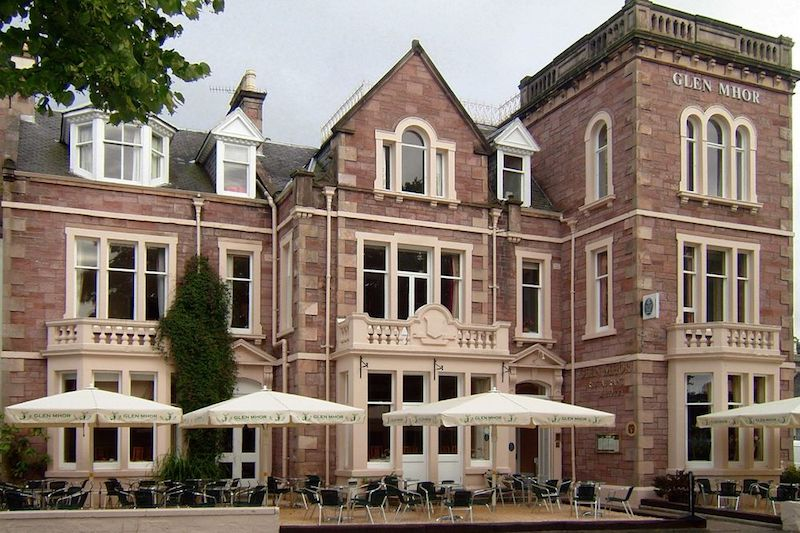 North coast accommodation, Glen Mhor Hotel, Inverness