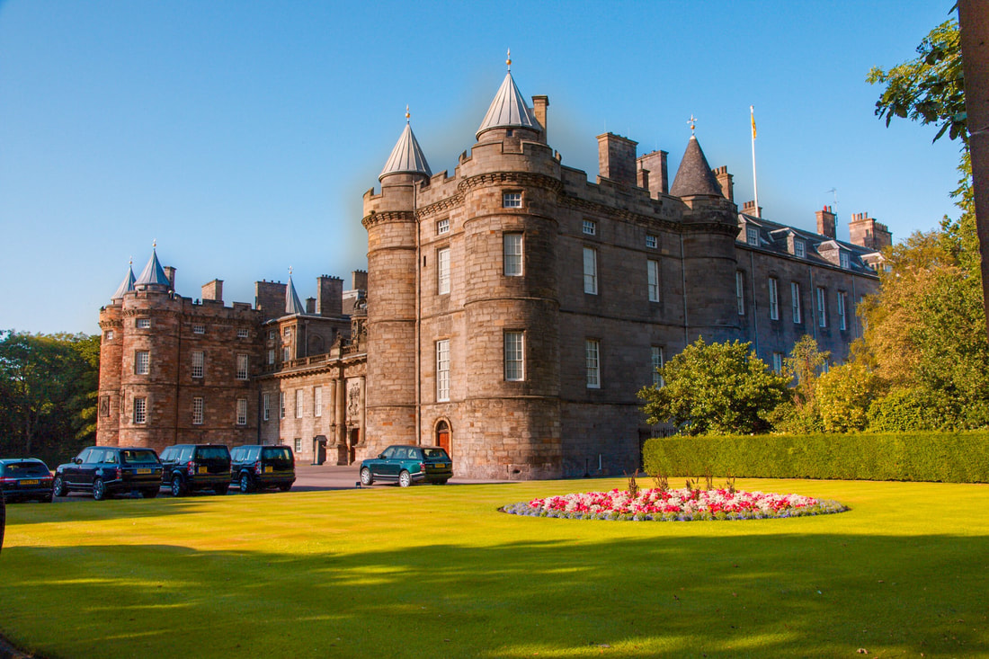 The Palace of Holyroodhouse, best afternoon teas in Edinburgh