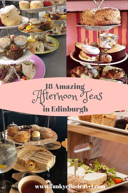 18 the the top afternoon teas in Edinburgh, Scotland