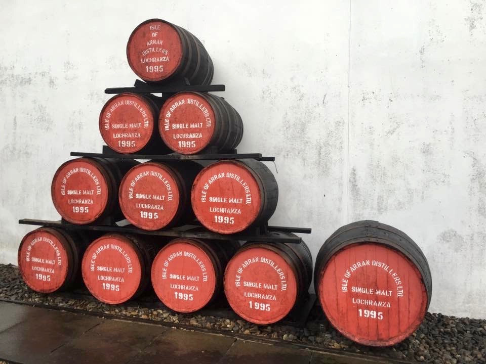 The Isle of Arran Whisky Distillery