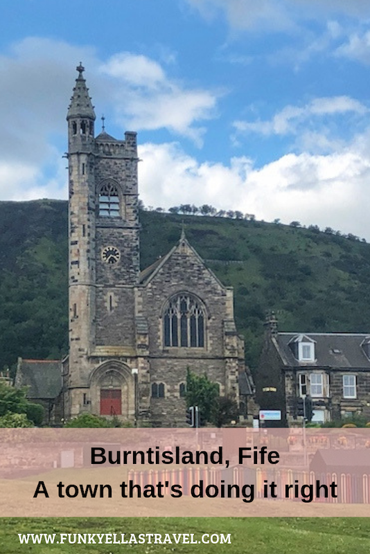 Burntisland, Fife, is a bustling little town with a long and fascinating history. What makes it extra special is that while high streets across the Uk are struggling Burntisland is thriving, thanks to the amount of small independent shops.