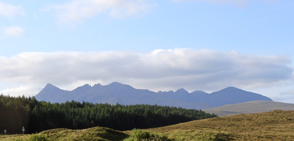 Cuillin Mountain Range, Isle of Skye
