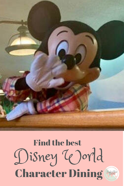 A delicious Guide to character dining at Disney