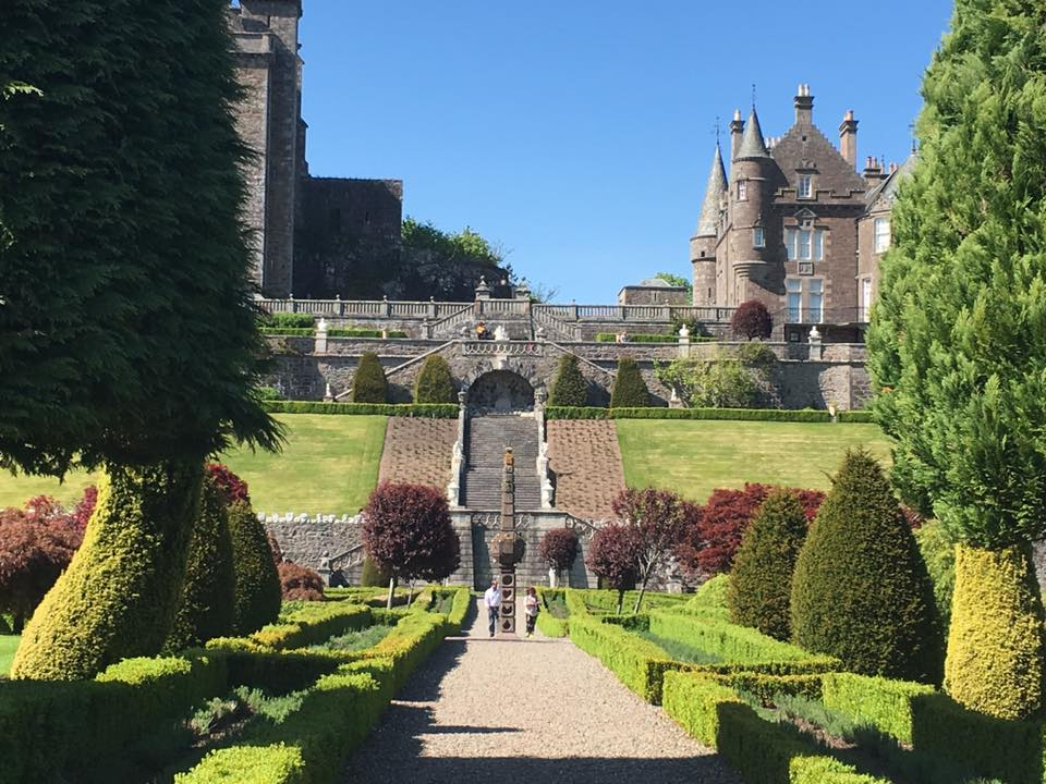 Drummond Castle and Gardens, Scotland