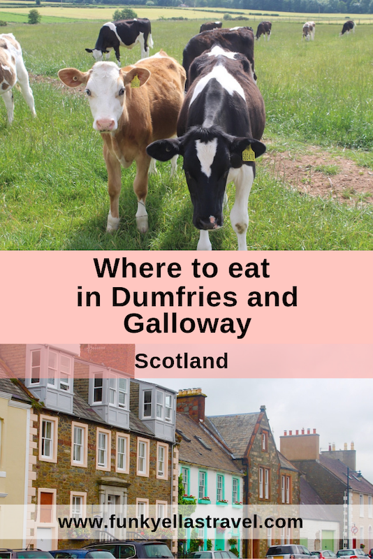 Where to eat in Dumfries and Galloway, a beautiful region in the south west of Scotland.