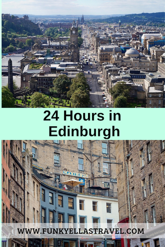 How to spend one day in Edinburgh. A 24 hours in Edinburgh itinerary. The perfect way to spend a day in Edinburgh and see all the main attractions, soak up some Scottish hospitality, sample some traditional Scottish food and don't forget a few wee drams of whisky #Edinburgh #Scotland #itinerary