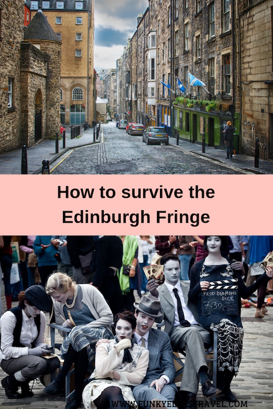 Planning a trip to the Edinburgh Fringe? Edinburgh in August is hectic, hot and jam packed but it's also amazing fun. This guid will make sure you are prepared so you don't miss a thing