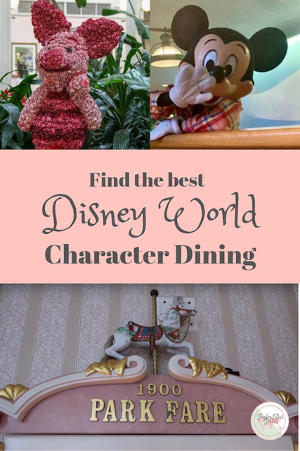A complete guide to Disney World character Dining in Orlando