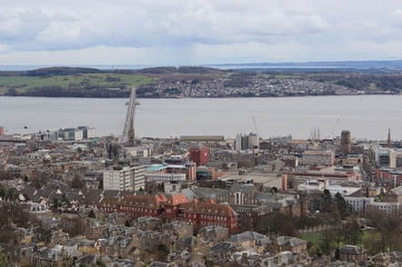 Dundee in Scotland