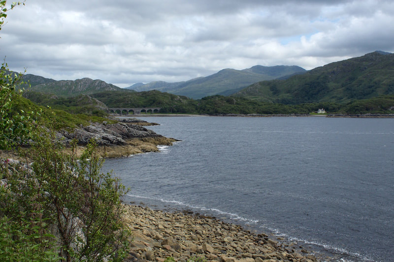 The beach in Lochaber where Bonnie Prince Charlie left for the Isle of Skye