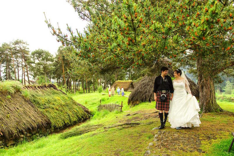 Wedding in the Scottish Highlands