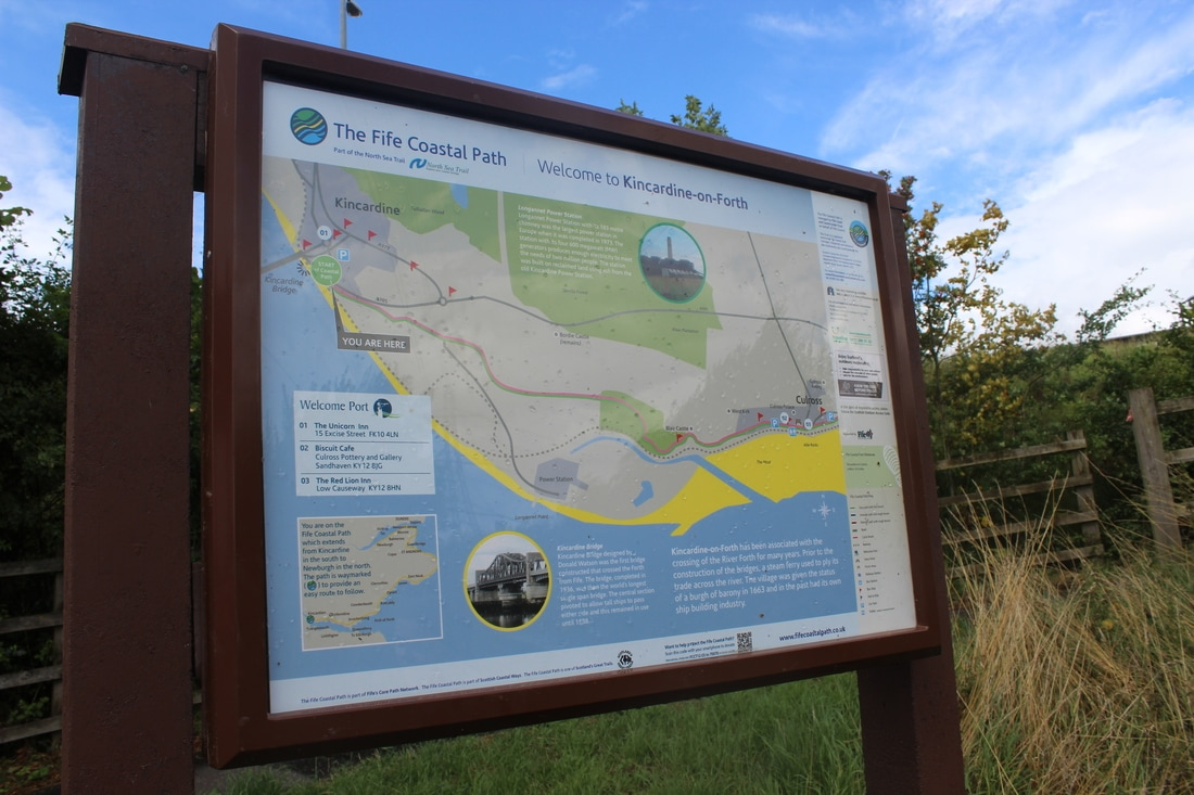 Kincardine to North Queensferry on the Fife Coastal Path