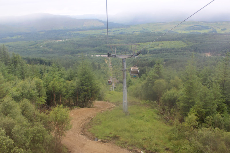 The Nevis Range Mountain Gondola