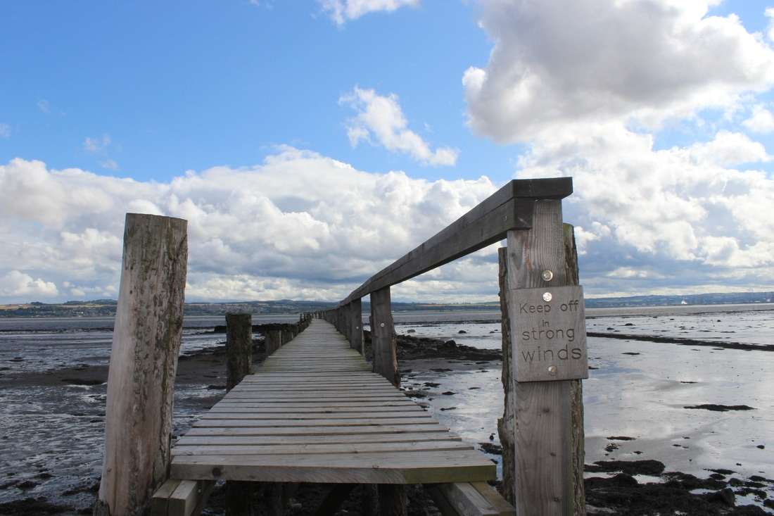 Pier in Culross