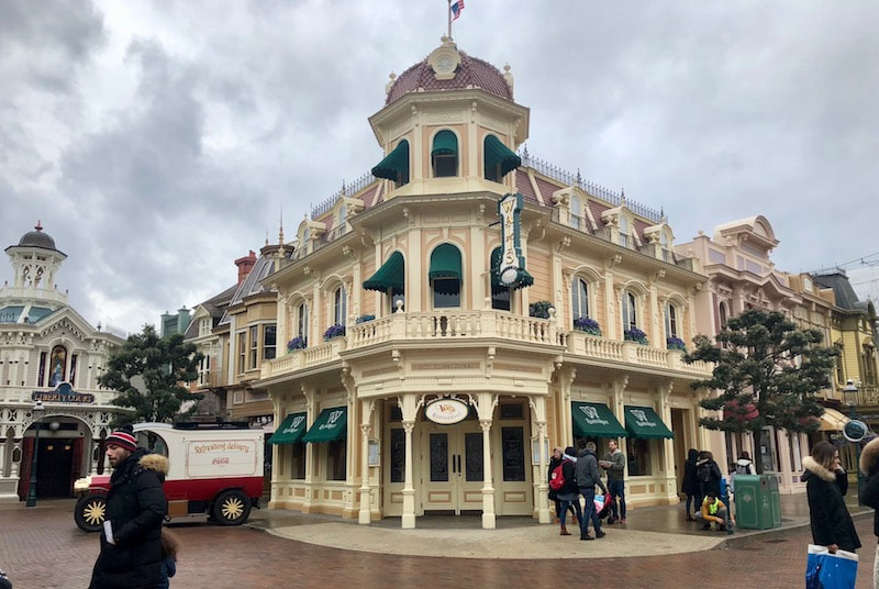 Walt's in Disneyland