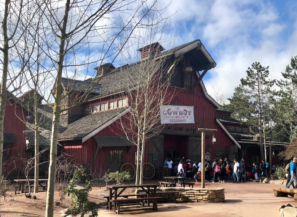 Cowboy Cookout at Disney Paris