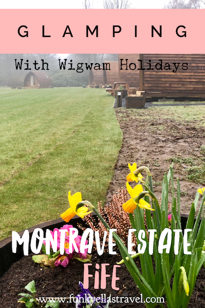 Glamping in Fife on the Montrave estate pin